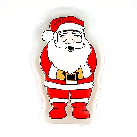 eBuyGB® Pack de 2 instantanée chauffage chauffe-mains - réutilisables chaleur Packs (père Noël)