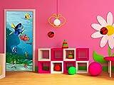 Disney Nemo/Décoration Murale - Poster géant - Papier Peint 202x90 cm