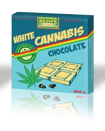 *Euphoria Cannabis Schokolade Weiß*