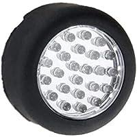 Aofocy Lámparas inalámbricas de 24 Luces para Camping Camping magnético para Uso en Interiores y Exteriores - Color Aleatorio