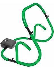Attrezzo per addominali »BellyBooster« per allenare efficacemente i muscoli addominali. Facile da montare, semplice da riporre, richiudibile. Perfetto per l'allenamento della muscolatura dell'addome e per successi sportivi rapidi. Migliora l'intensità dell'allenamento mediante esercizi per gli addominali più mirati e rafforza la muscolatura della schiena (allenamento dorsali) verde