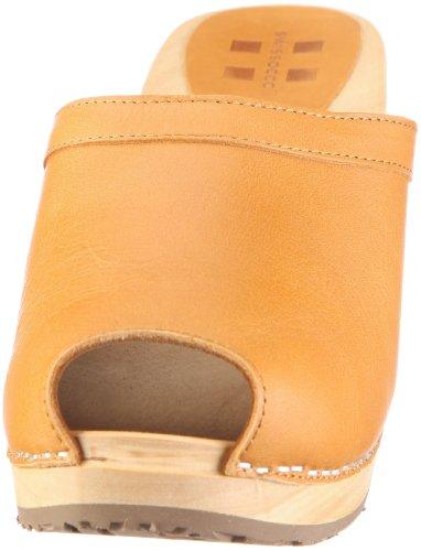 Swissoccoli Holzsandalette 2078, Chaussures femme Marron-TR-C5-7