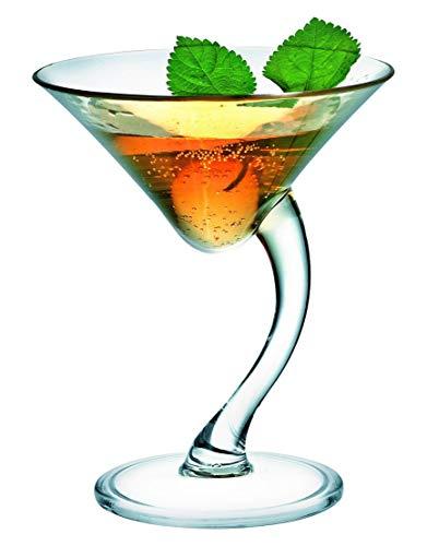 Cocktails/Martiniglas/Universalglas, 0,21 l, Kunststoff in Gastronomie-Qualität (Polycarbonat), wiederverwendbar, 6 versch. Setgrößen (6, 12, 18, 24, 30, 36 St.) ()