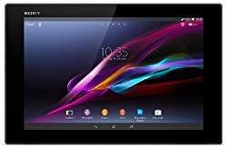 Sony Xperia Tablet Z 16GB Flash Speicher 25,7 cm (10,1 Zoll) Tablet-PC (Quad-Core, 1,5GHz, 2GB RAM, LTE, Android 4.1) schwarz