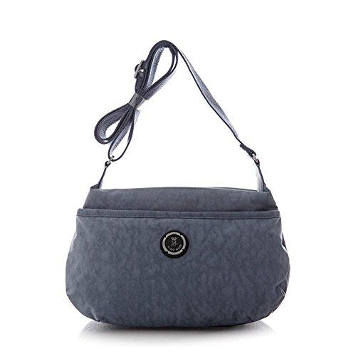 GBT Die neue Frauen Schultertasche Handtasche Light Blue