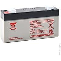 Yuasa - Batería plomo AGM YUASA NP1.2-6 6V 1.2Ah F4.8