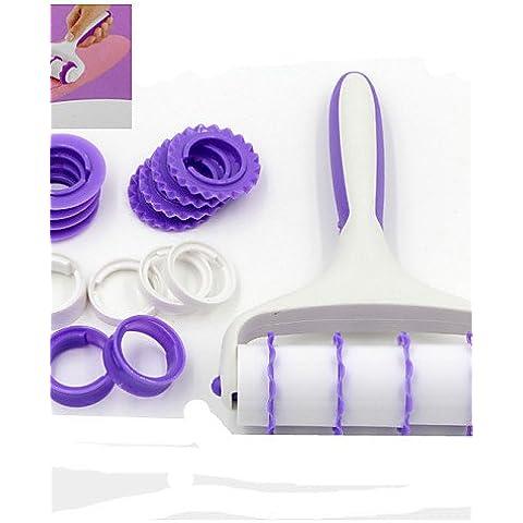 Limón & T Fondant Decoración de Pasteles rodillo encaje decoración juego de herramientas para