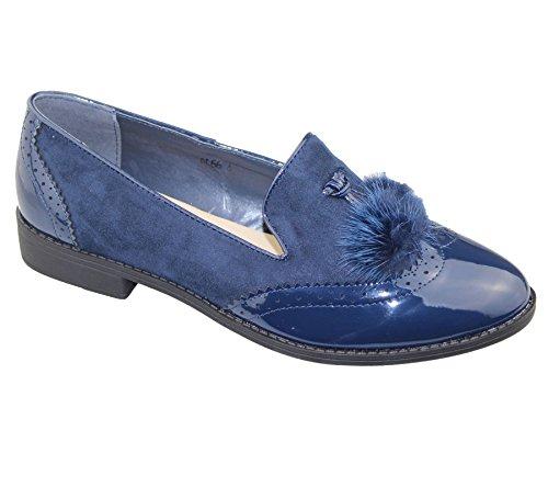 KOLLACHE , Mocassins pour femme Bleu