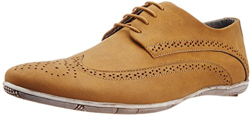 BCK (By Buckaroo) Men's Luis Camel Sneakers - 9 Uk  available at amazon for Rs.1038