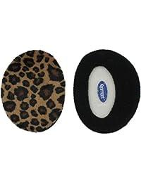 kenmont Unisexe Lady femmes de ski extérieur 100% polyester Leopard oreille chaud cache-oreilles oreille Sacs