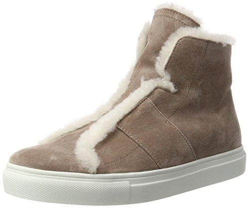 Kennel und Schmenger Damen Basket Hohe Sneaker, Mehrfarbig (Rosewood/Nature Sohle Weiss), 38 EU