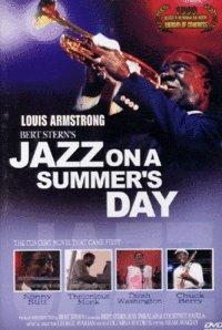 Bert Sterns auf einem JAZZ SOMMER'S DAY (1959) Region 1,2,3,4,5,6 unterstützte DVD. Darsteller Louis Armstrong, George Shearing, Mahalia Jackson, Thelonious Monk, Chuck Berry