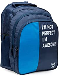 Chris   Kate Big 42 litres Comfortable Blue Casual Laptop Bag    College Bag    cc2e7edb96