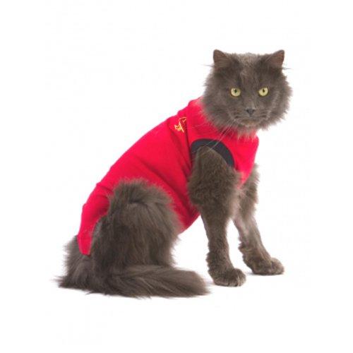 medical-pet-shirt-cat-red-xxxxs