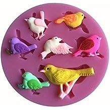 Inception Pro Infinite Molde de Silicona - para Manualidades - pájaros - gorriones - pinzones -