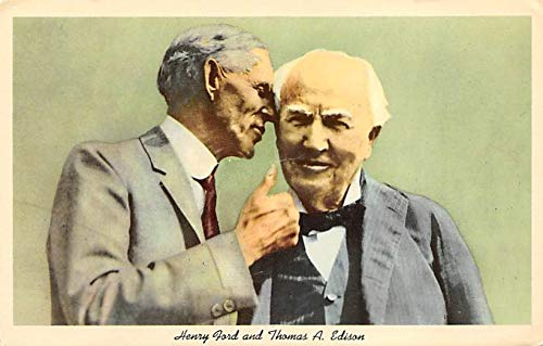 Henry Ford and Thomas A. Edison Unused