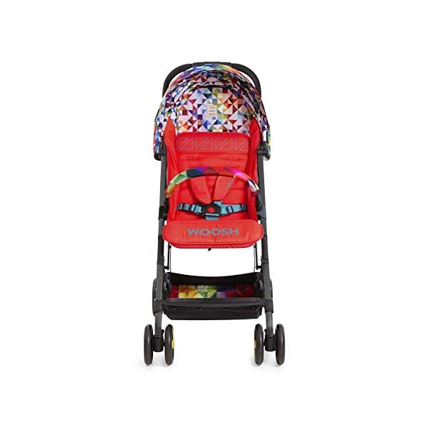 Cosatto CT4254 Woosh 2 Spectroluxe 7.2 kg Cosatto Suitable from birth to max weight of 25kg, lets your toddler use it for even longer Lightweight, sturdy aluminium frame New-born recline 5