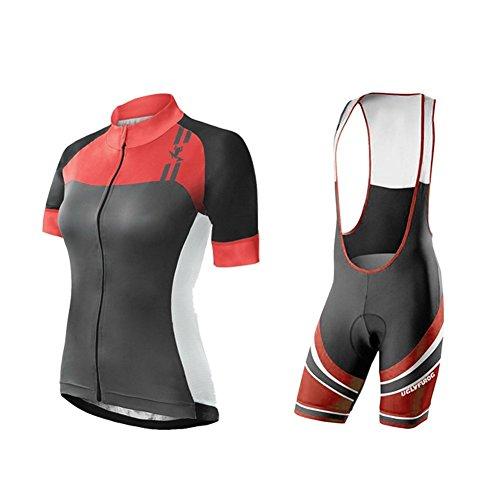 Uglyfrog Cycling Jersey Donna Body Magliette + Salopette Sets Mountain Bike Manica Corta Camicia Top MTB Abbigliamento Ciclismo Estate Style HIZD11