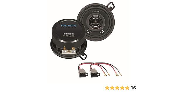 Crunch Dsx32 2 Wege Koaxial Lautsprechersystem Elektronik
