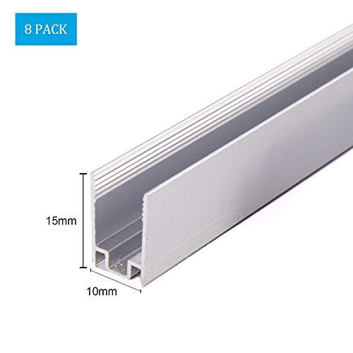 3pc LED néon cordon d'alimentation de la lumière, 5pc embout, 5pc tube thermorétractable, 10pc pin, pour Shine Decor Dia. 8mm néon corde flexible lumière seulement