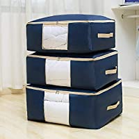 Ballery sous Le lit Sac de Rangement, 3 Pièces Closet Organizer Sac Souple, Sac Space Saver pour Ranger Les vêtements…