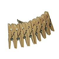 Sleepies Hair Clip Made-Wooden Clothes Pegs