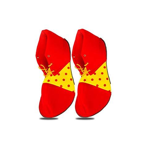 he Lustige Show Schuhe Clown Kostüme Requisiten Erwachsenes Kleid Halloween ()