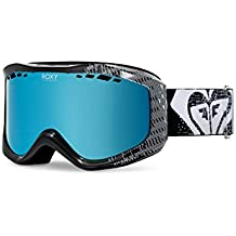 Roxy Sunset de snowboard/Gafas de esquí, Otoño-invierno, mujer, color antracita, tamaño --