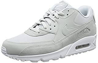 Nike Men's Air Max 90 Essential Gymnastics Shoes, Grey White/Pure Platinum 002, 11 UK 46 EU (B07BZBBYLR) | Amazon price tracker / tracking, Amazon price history charts, Amazon price watches, Amazon price drop alerts
