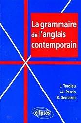La grammaire de l'anglais contemporain