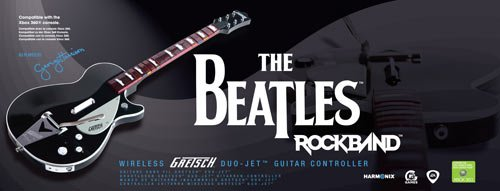 The Beatles: Rock Band Gretch Duo Jet Standalone Guitar
