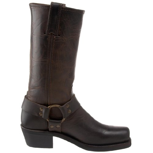 Frye Harness 12R, Boots femme Gris (Smk)