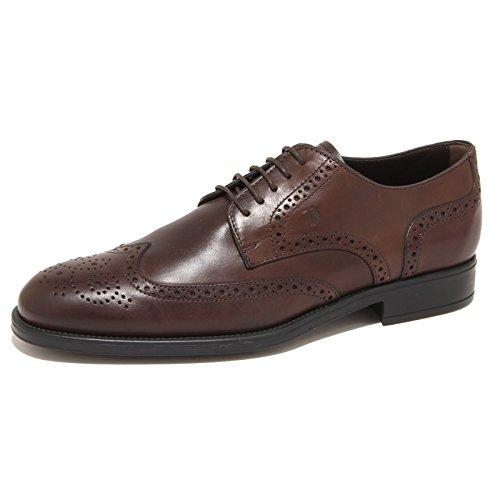 7783N scarpe TOD S DERBY testa di moro scarpe uomo shoes men 12b44a40e08