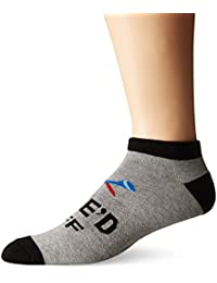K. Bell Socks Men's Tee'd Off No Show Socks
