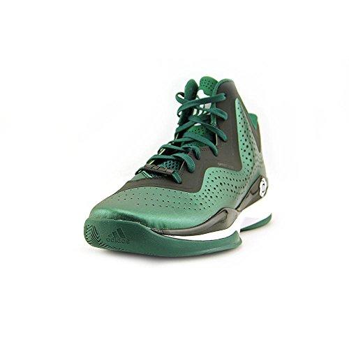 adidas D Rose 773 III Mens Basketball Shoe 10 Black-Scarlet Grey/Balck/Red