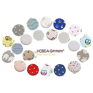 HOBEA-Germany Kirschkernkissen Wärmekissen Körnerkissen für Babys rund in verschiedenen Designs
