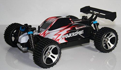 RC BUGGY RAPID POWERSPORT 4WD 50 km/h Höchstgeschwindigkeit - 4x4 Allradantrieb - Brushed RC540 Motor luftgekühlt