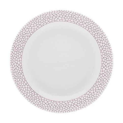 Lot de 6 Assiettes creuses calotte rondes 18,5 cm