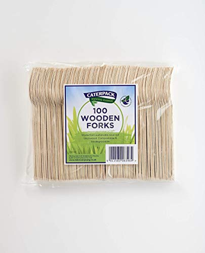 Caterpack Enviro Tenedores de madera