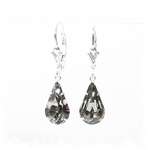 end-of-line-clearance-925-sterling-silver-lever-back-earrings-expertly-made-with-black-diamond-cryst