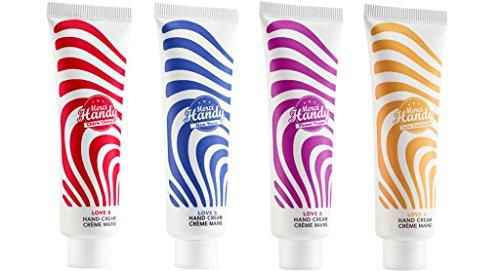 Merci Handy - Paquete de 4 Cremas Naturales para manos - 4 x 30 ml.