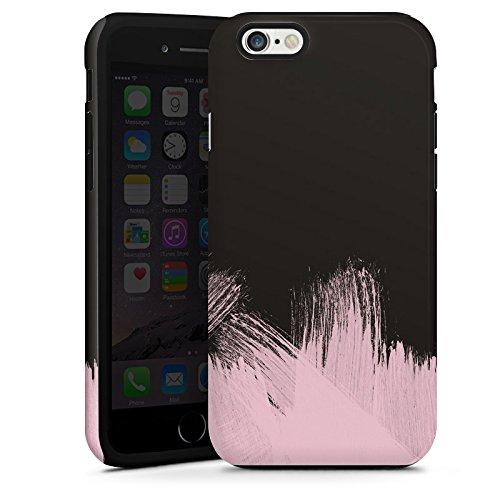Apple iPhone SE Housse Outdoor Étui militaire Coque Pantone Pastel Rose Cas Tough terne