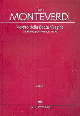 Vespro della Beata Vergine: Marienvesper
