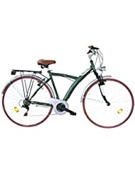 LlNEA GIANNI BUGNO Bicicleta Ayx28221Ca.16 Verde Oscuro