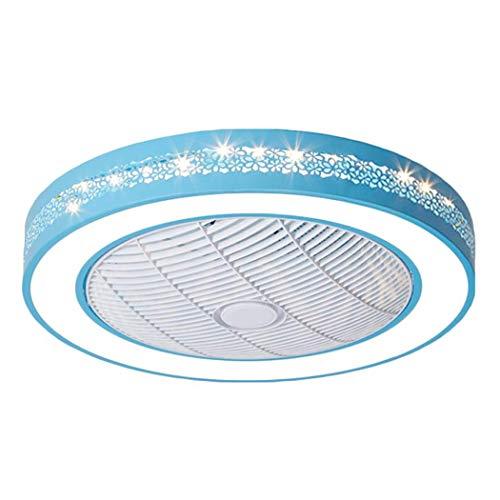 Ventilatore A Soffitto A LED LED Camera dei Bambini Lampada da Tavolo Ufficio Ristorante Soggiorno Decorativo Illuminazione Fan Lampada da Soffitto