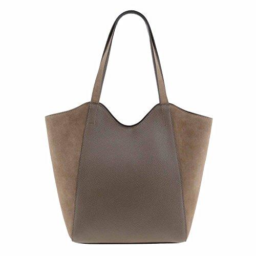 Stile borsa di pelle cestino Misure: U Colore: BEIGE