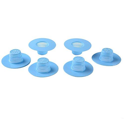 blulu-vasca-in-plastica-da-cucina-tappo-di-lavello-colino-filtro-scarico-netto-capelli-blu-6-pezzi