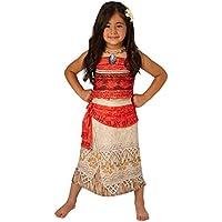 Deluxe Moana - Disney Princess - Disfraces para niños - Mediano - 116cm - Edad 5-6