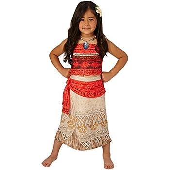 Luxe Moana - Princesse Disney - Costume Fantaisie Enfant - Petit - 104cm - Age 3-4