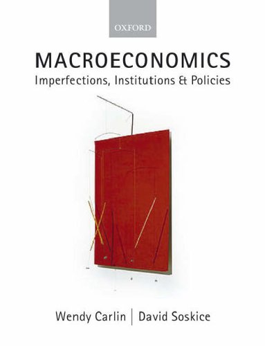 pdf free Macroeconomics: Imperfections, Institutions, and